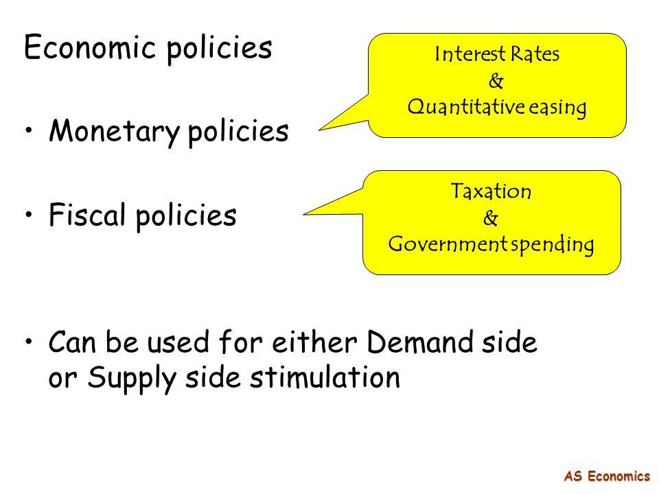 economics government policies