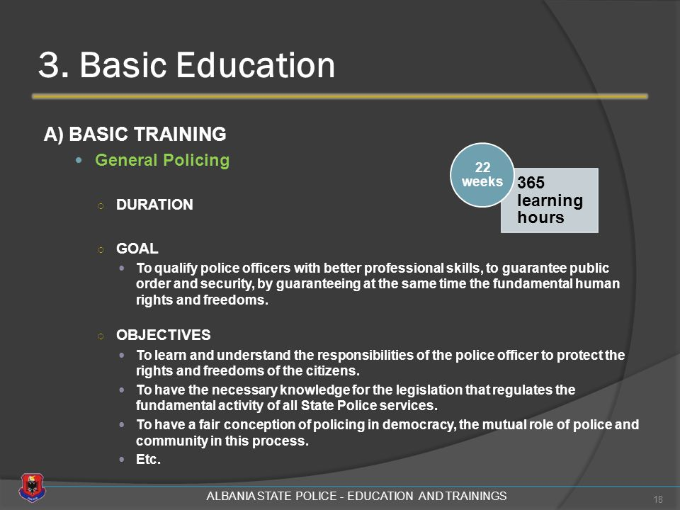 albania state police education and trainings 3