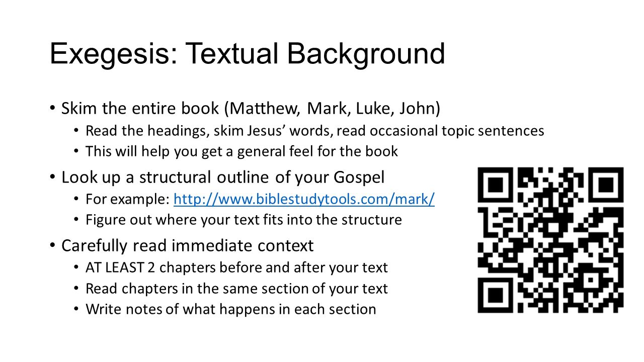 bible how to write an exegetical paper questions  2 exegesis