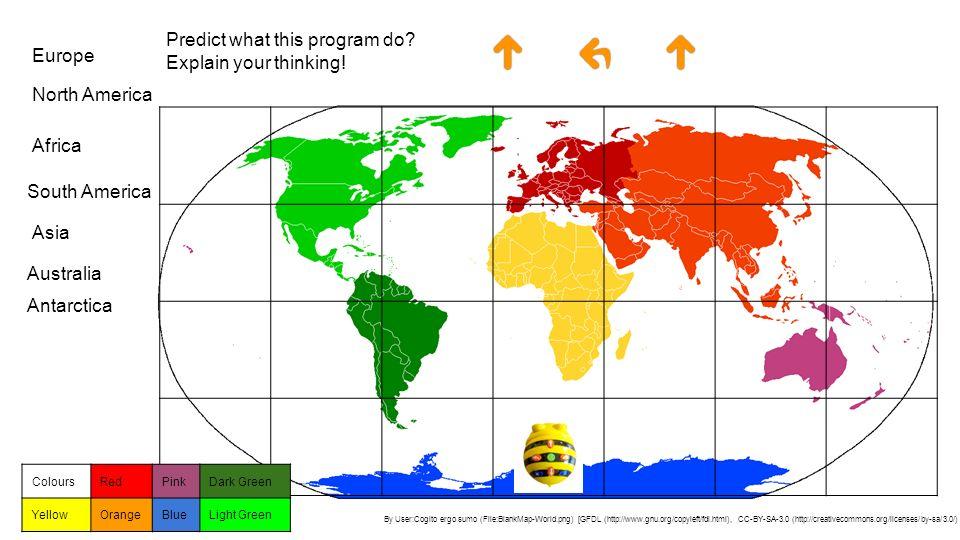 KS World Map Logic Logic And Programming I Predict If I Wear My - Simple world map ks1