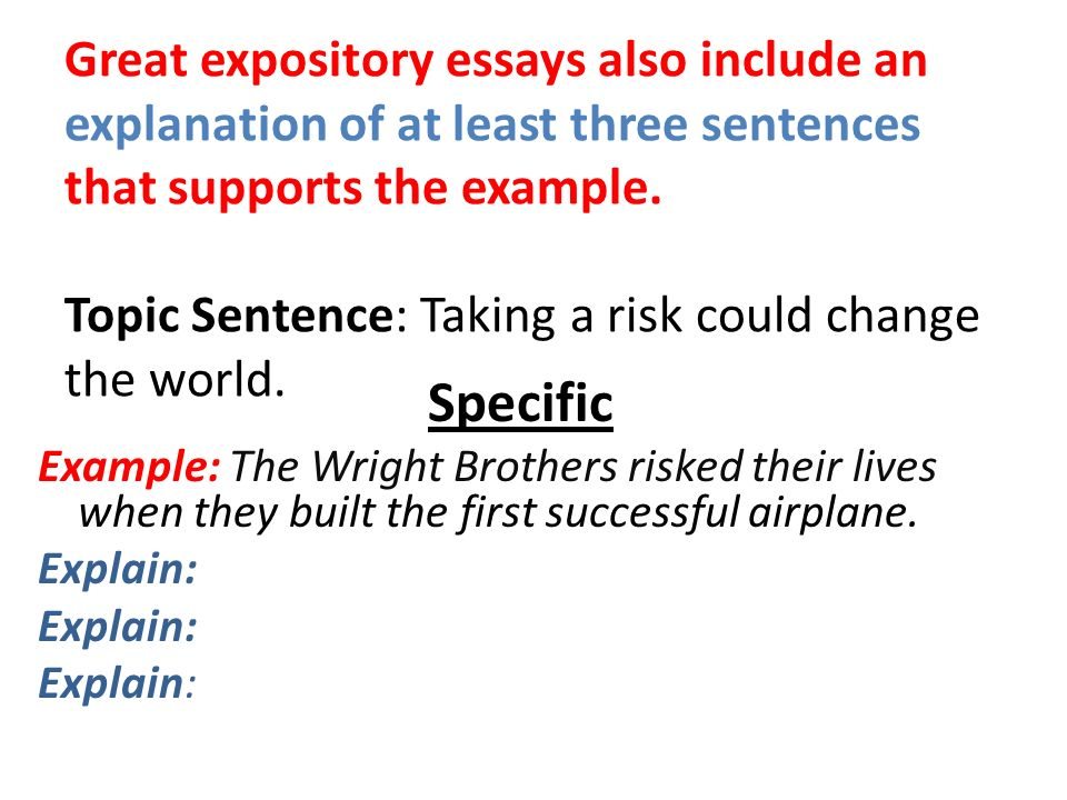 take a risk college essays The risk you take has possible outcomes and they must be determined before you decide to take the risk or not to determine the outcomes, you must make every outcome a possibility because in a risk, anything can happen.