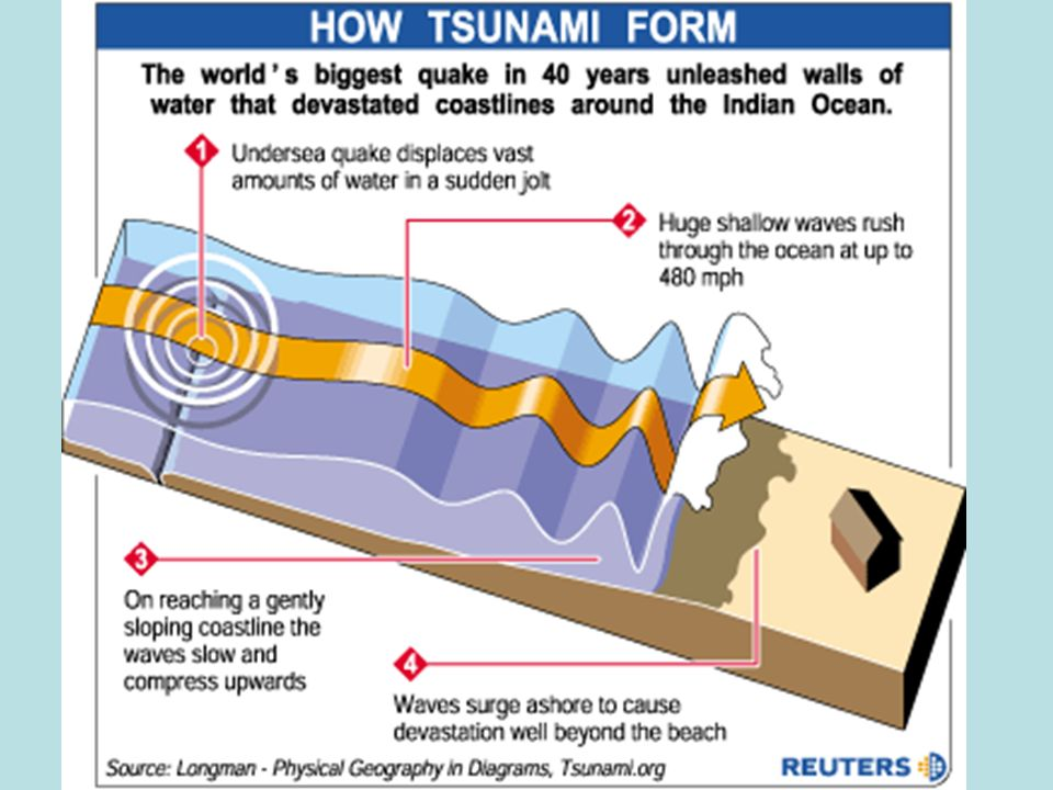 Tsunamis. What is a tsunami? A tsunami is a series of waves ...