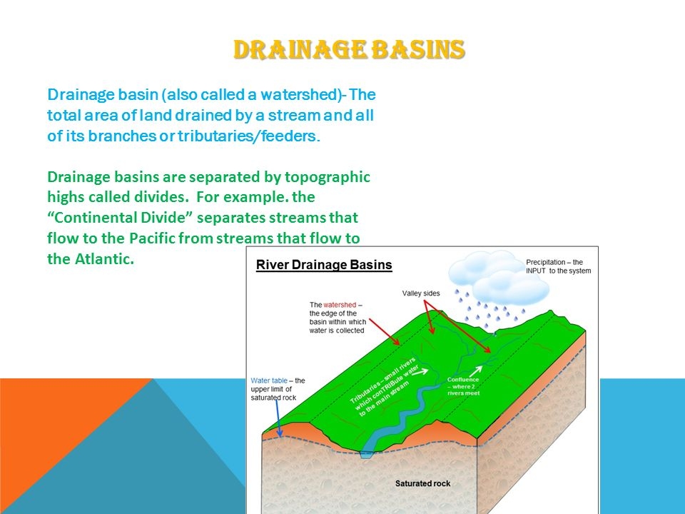 four types of drainage basin stores essay Which basin is the largestthe largest drainage basin that canada local fracnchise/grocery stores would types of regions-drainage basins.