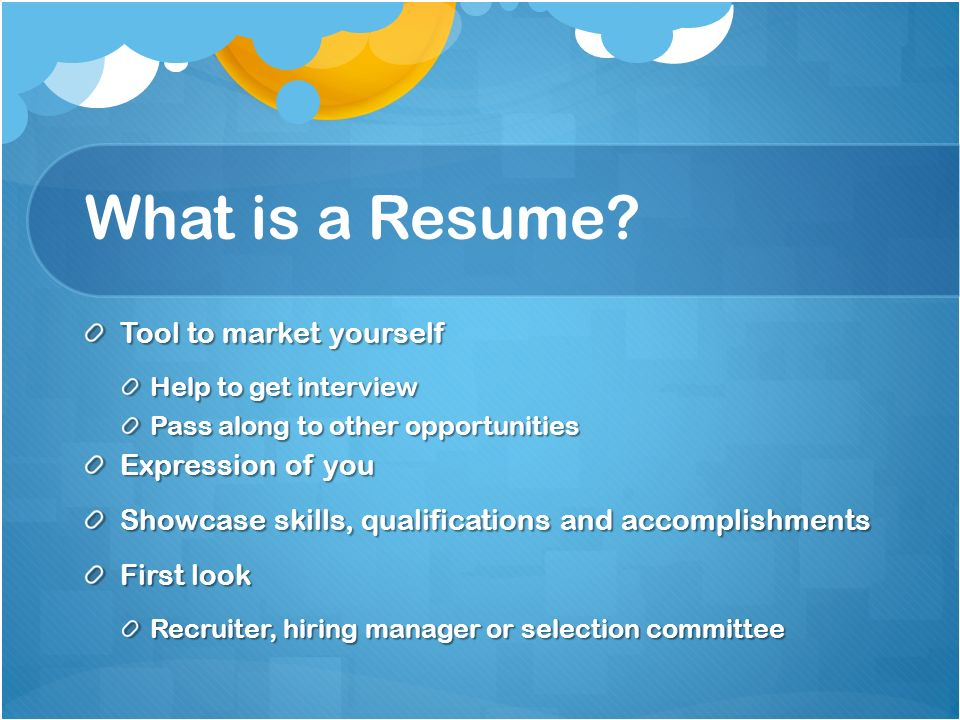 resume writing workshop interview tips athens high school the