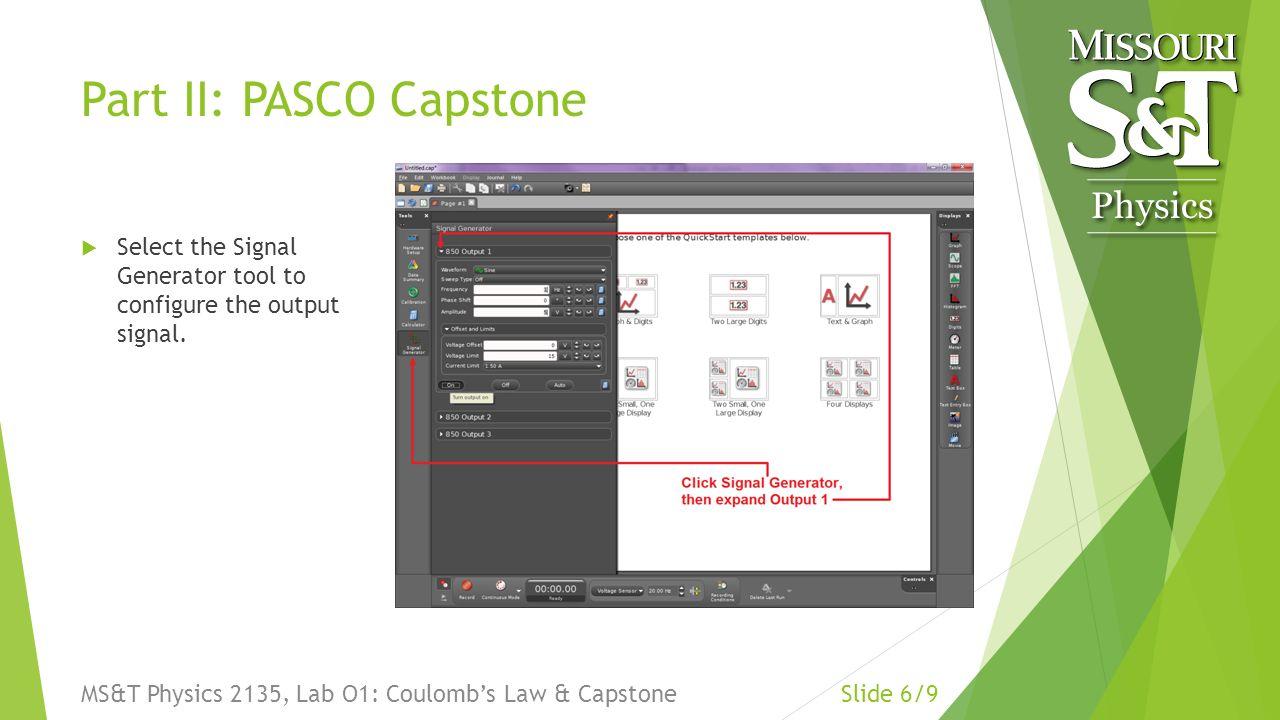 capstone manual