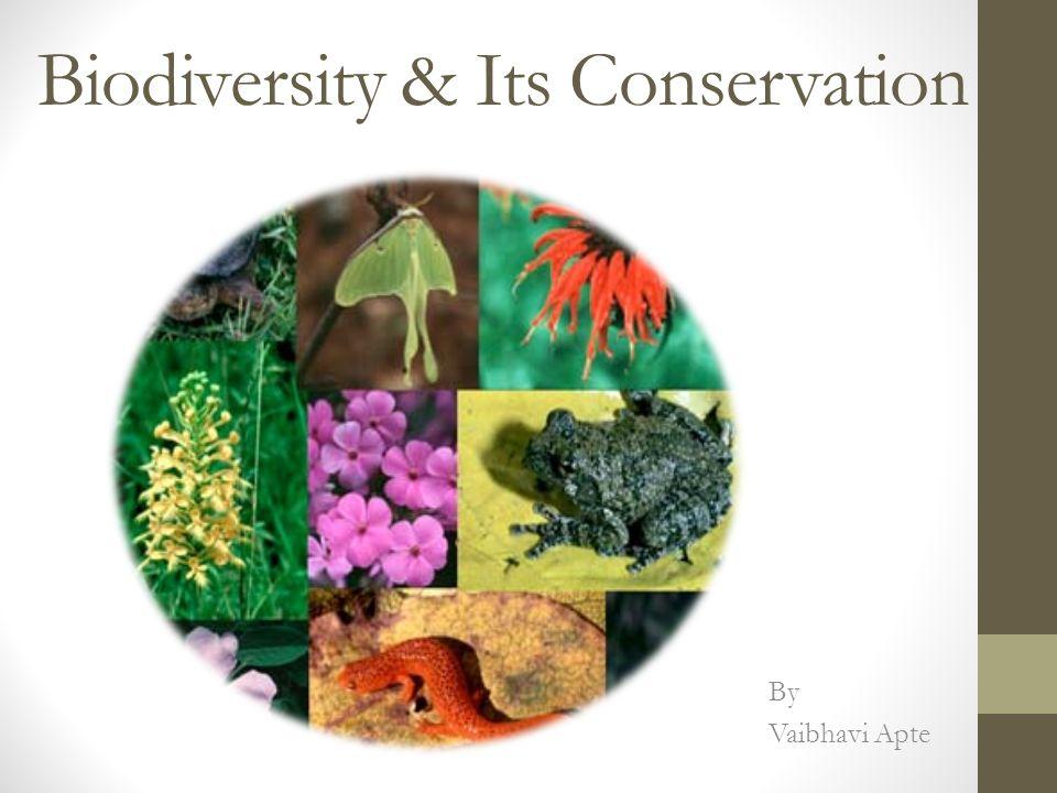 Biodiversity & Its Conservation By Vaibhavi Apte