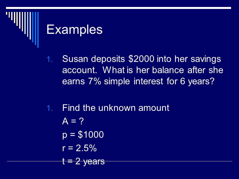 Simple and Compound Interest Simple Interest I Prt Compound – I Prt Worksheet