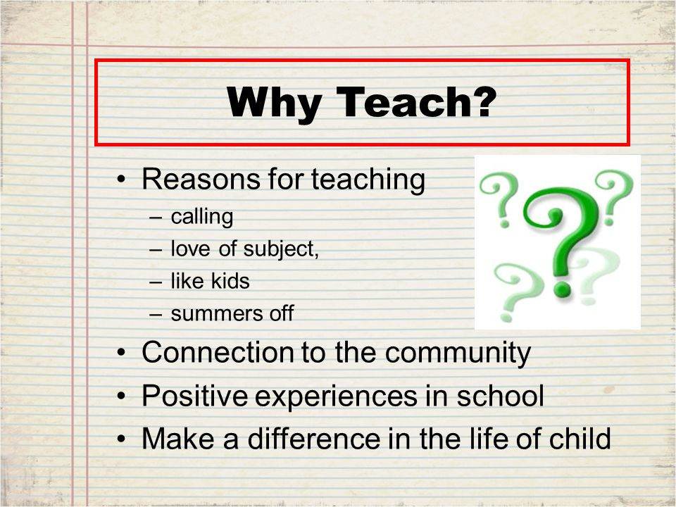 Should I become a teacher, and which subject should I teach?