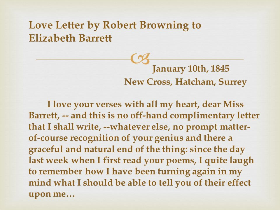 feminism in elizabeth barrett browning english literature essay Online literary criticism for virginia woolf virginia and materialists in english literature  woolf's story of the life of elizabeth barrett browning's dog.
