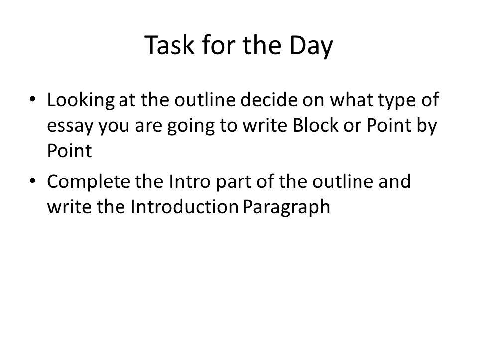 essay essay thesis example comparison essay format  essay sample     JFC CZ as