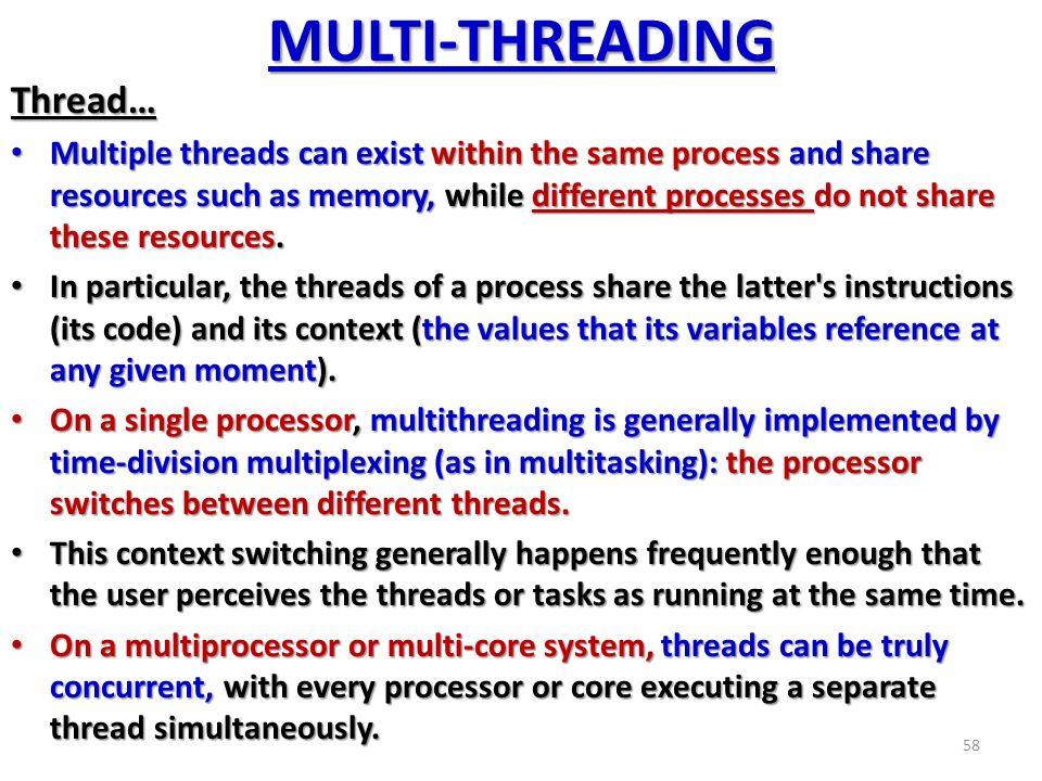 multiprocessing and multitasking pdf