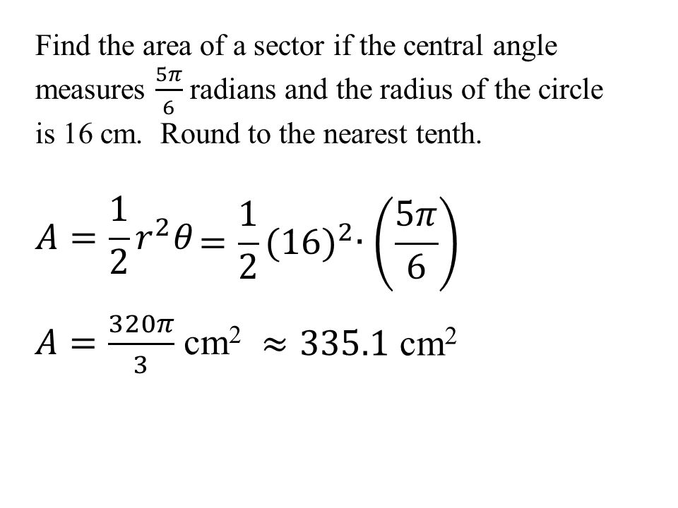61 Angles and Radian Measure Objective Change from radian to – Radian Measure Worksheet