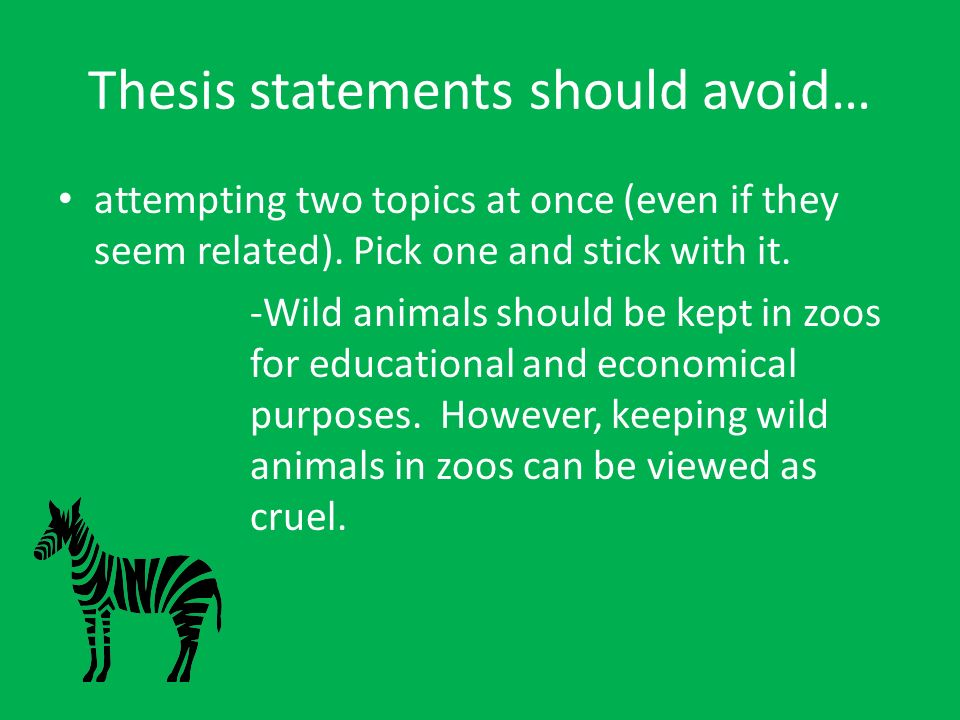 essay zoos should banned