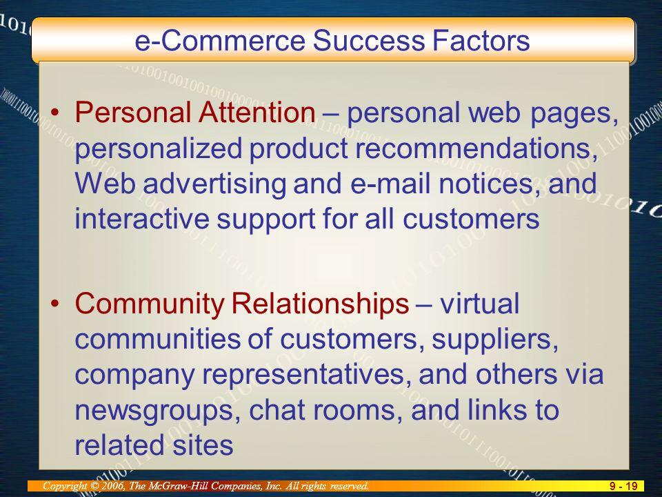 9 - 19 Copyright © 2006, The McGraw-Hill Companies, Inc.