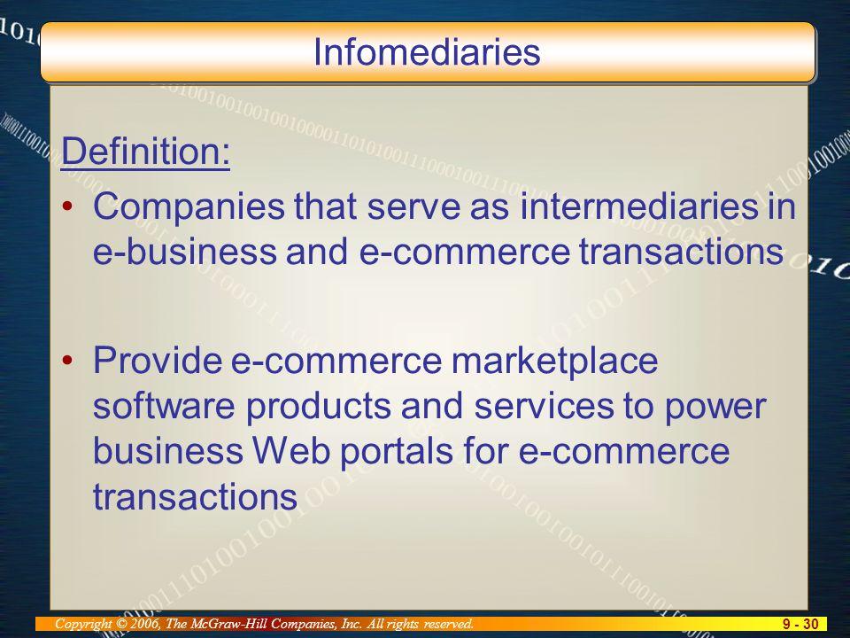 9 - 30 Copyright © 2006, The McGraw-Hill Companies, Inc.