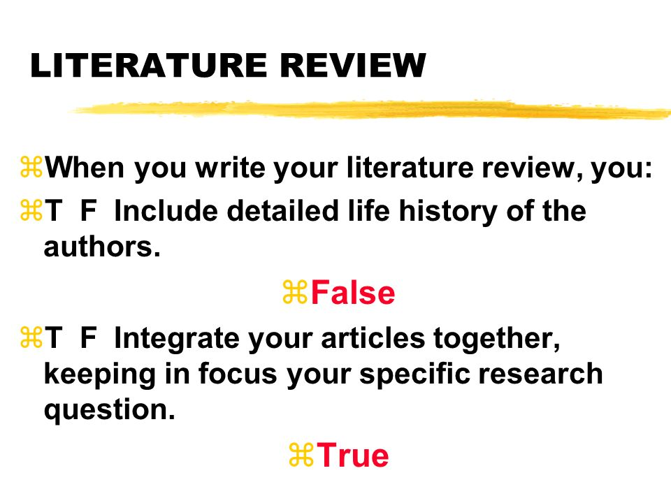 Psychology Literature Review Example Best And Reasonably Priced