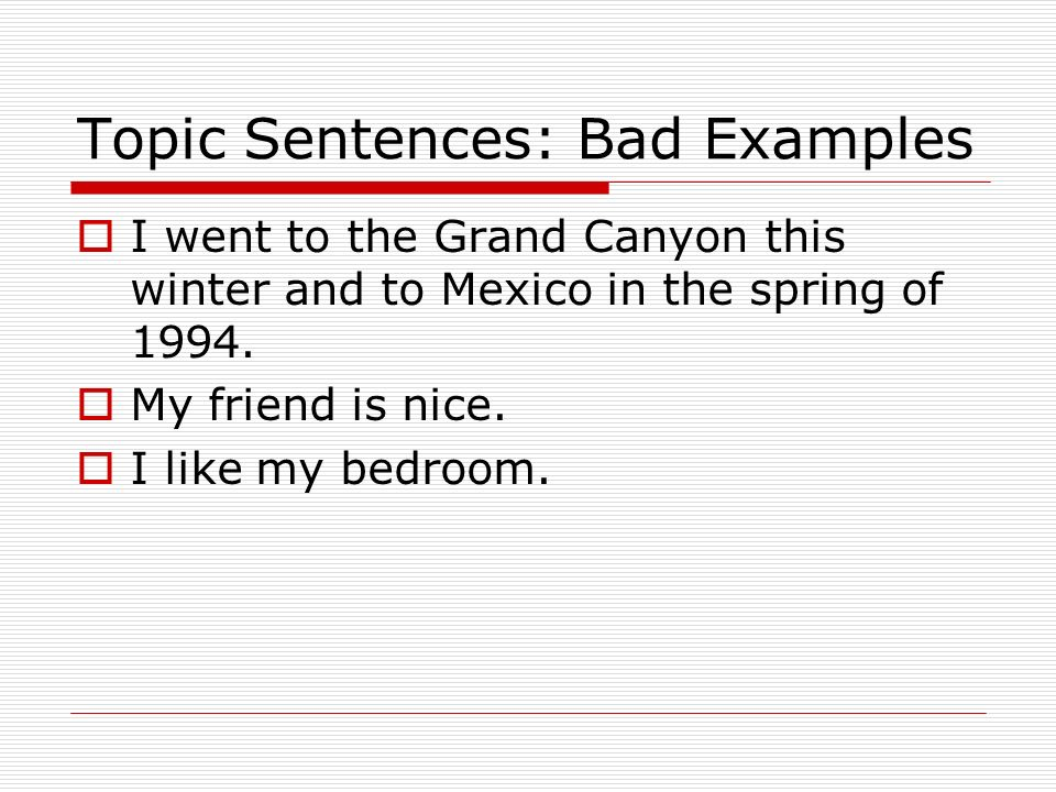 begin a topic sentence  state what the paragraph is about  student examples of topic sentences  mother and father penguins both take care of their young