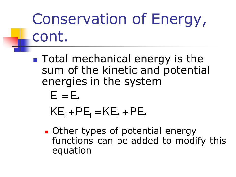 Law of conservation of energy worksheet physics