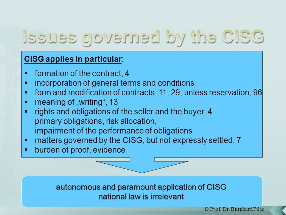 a case study of cisg and [국제거래법 특강] 국제물품매매협약 cisg 사례연구 for clear view of pt, you're requested to visit koreanlii website then find the item - cisg case law - cisg.