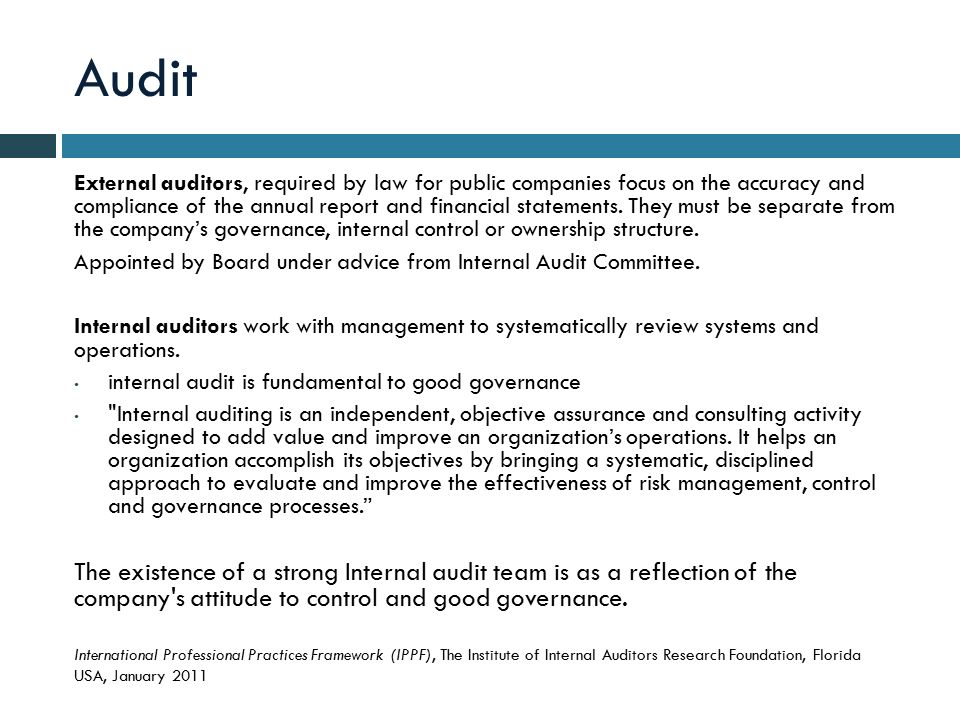 Private Company Audit Report. New Swiss Financial Reporting Law