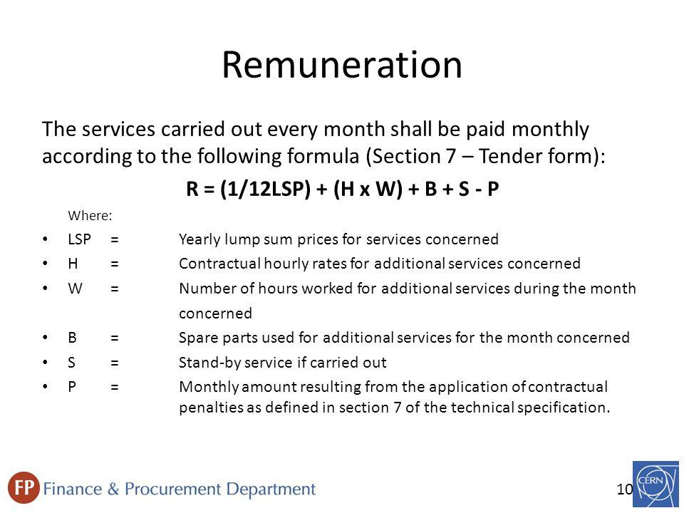 Invitation to tender procedure invitation to tender procedure it 10 10 remuneration stopboris Choice Image