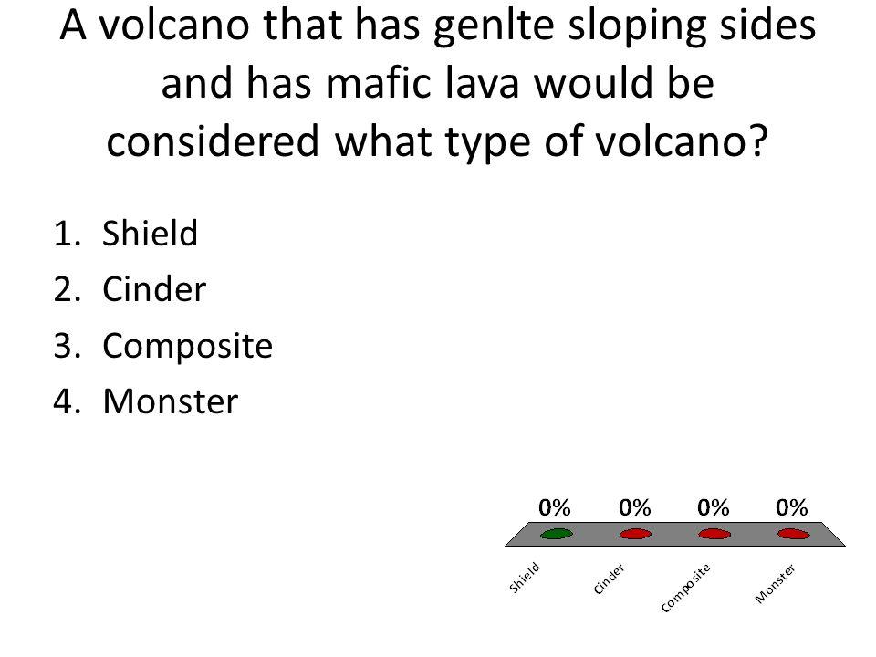 Volcanoes can form at 1.Transform boundaries 2.Convergent ...