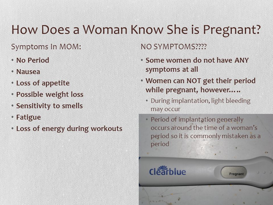 Baby And Mom Month To Development Conception Occurs Sperm Rhslideplayer: Light  Period Pregnant At Light