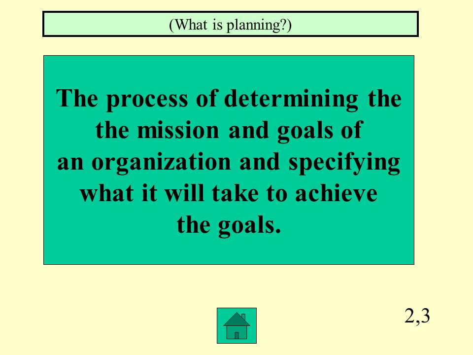2,2 Planning Organizing Leading Controlling (What are the functions of management?)