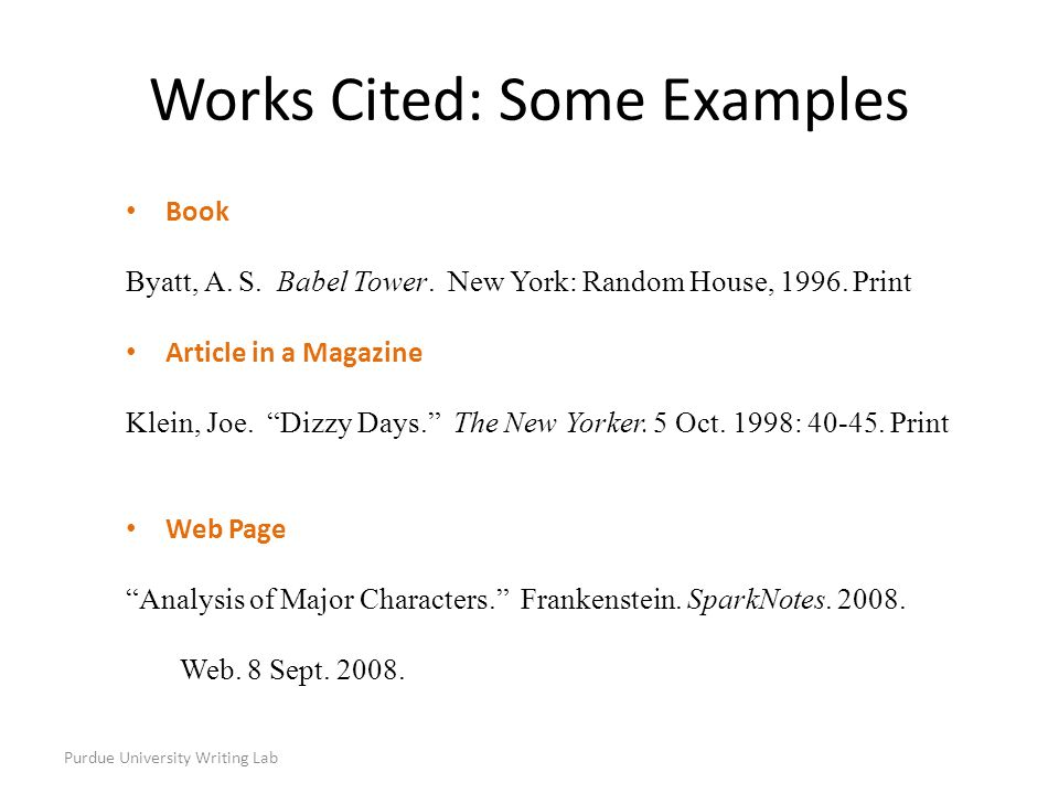 Purdue university writing lab most citations should contain the purdue university writing lab book byatt a s babel tower ccuart Image collections