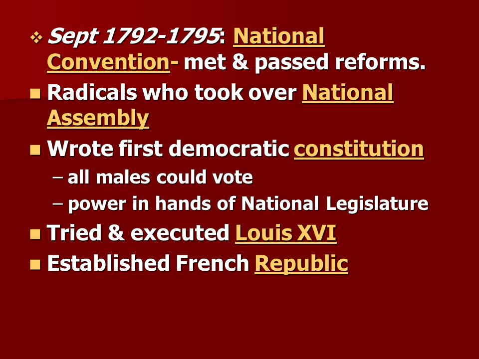 World History Chapter 11-The French Revolution Section 3- Dawn of ...
