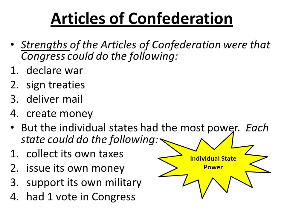 an analysis of the period before the constitution on confederation Learn about the us articles of confederation, our first constitution visit constitutionfactscom to read the full text of the articles of confederation, learn about the signers and more.