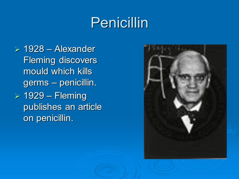 alexander fleming the revolution of penicillin