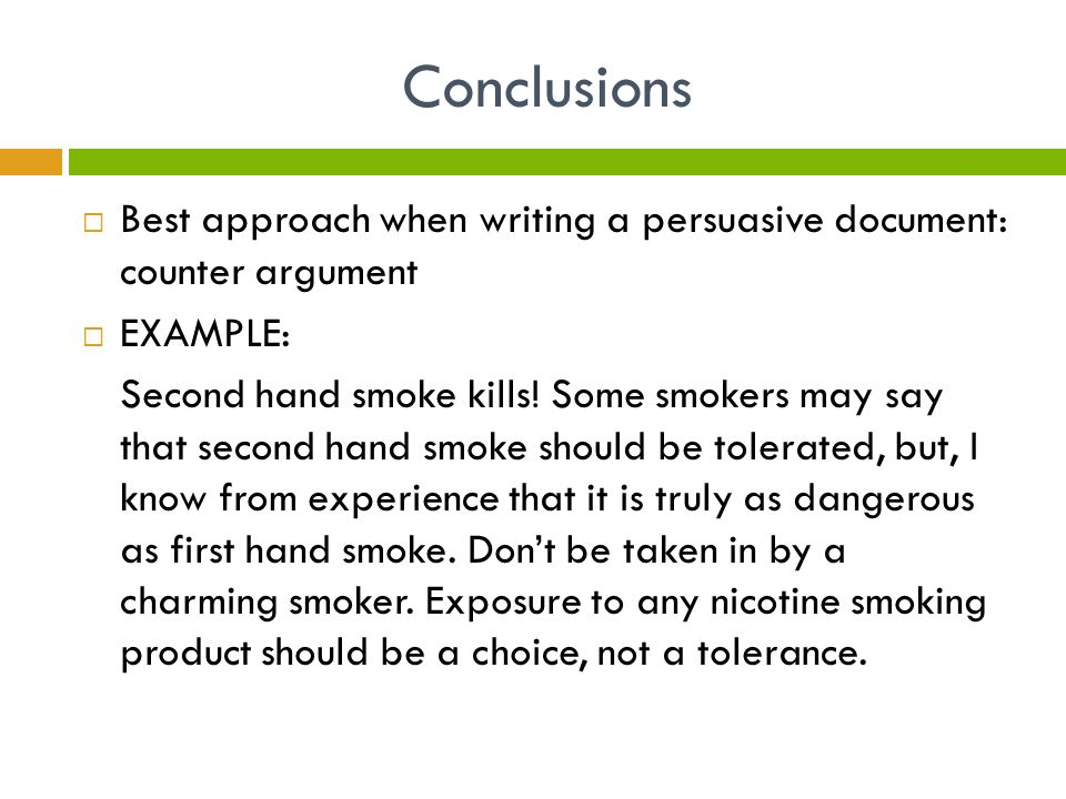 Argumentative Essay On Smoking