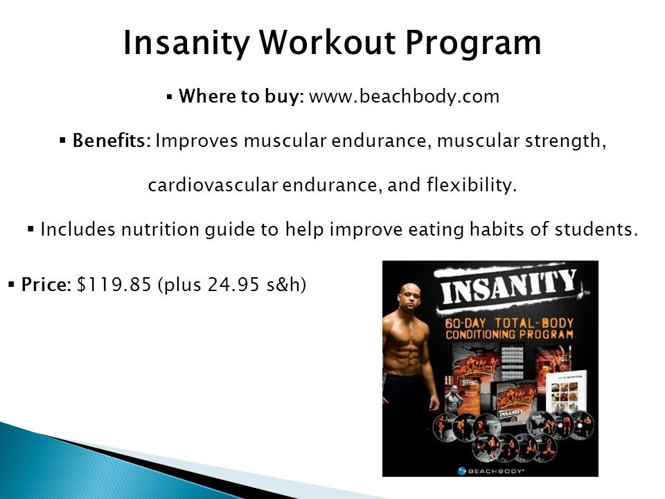 Insanity Nutrition Guide PDF - Your Free Nutrition