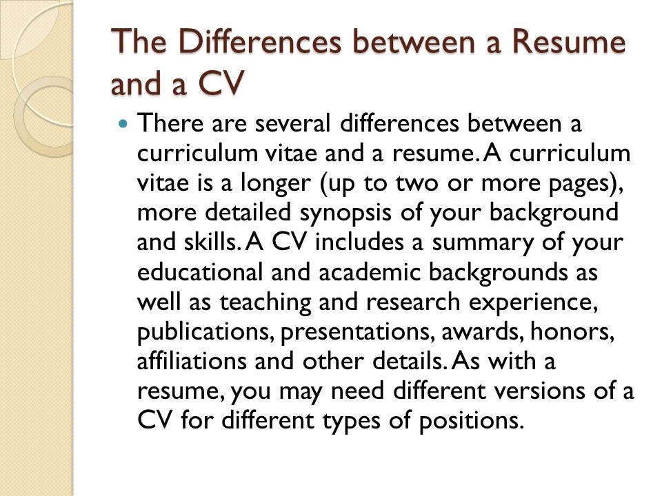 curriculum vitae cv when to use a curriculum vitae when should