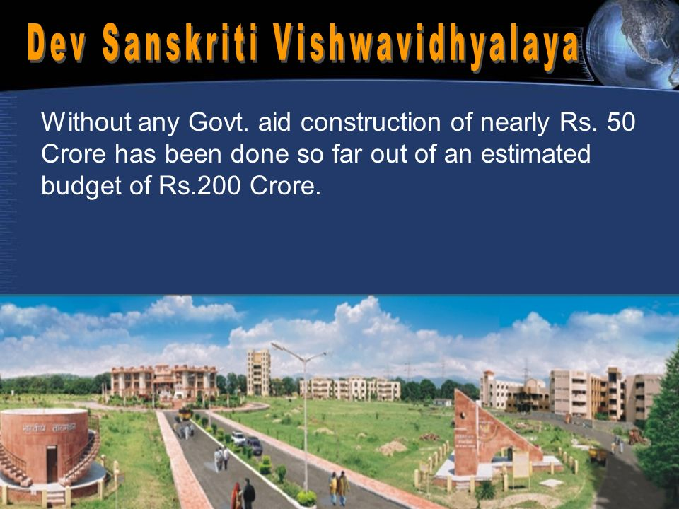 Without any Govt. aid construction of nearly Rs.