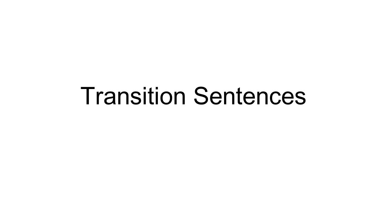 transition sentences step meet your group to add three 1 transition sentences