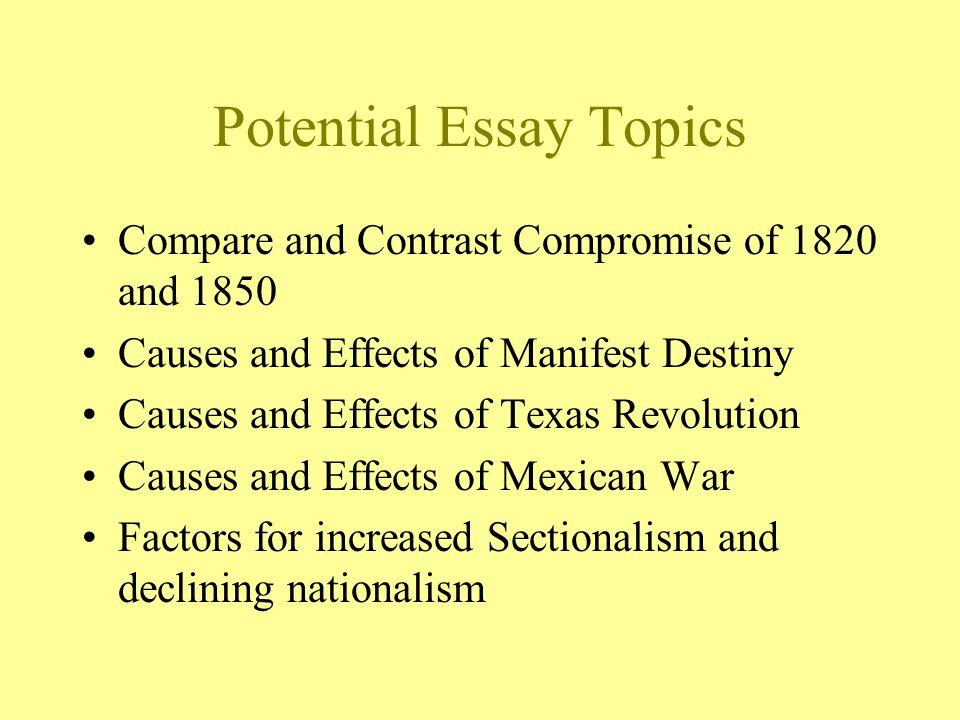 a literary analysis of manifest destiny