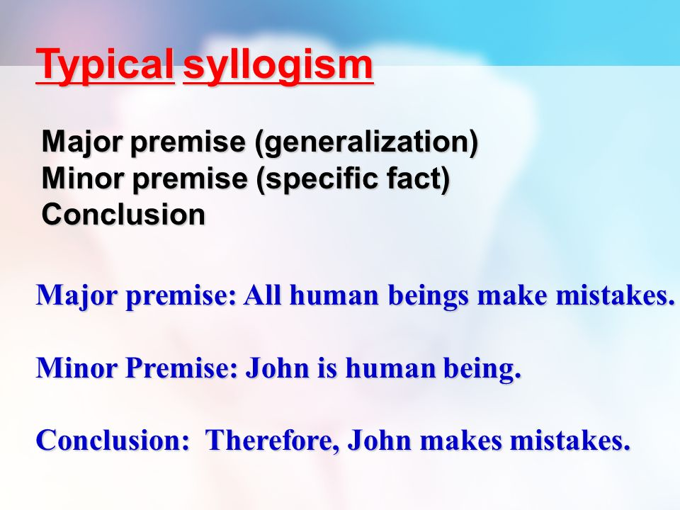 Syllogism Essay Coursework Writing Service