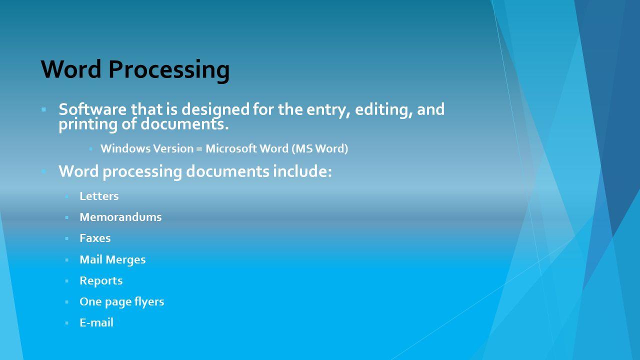 BBC  GCSE Bitesize Word processing