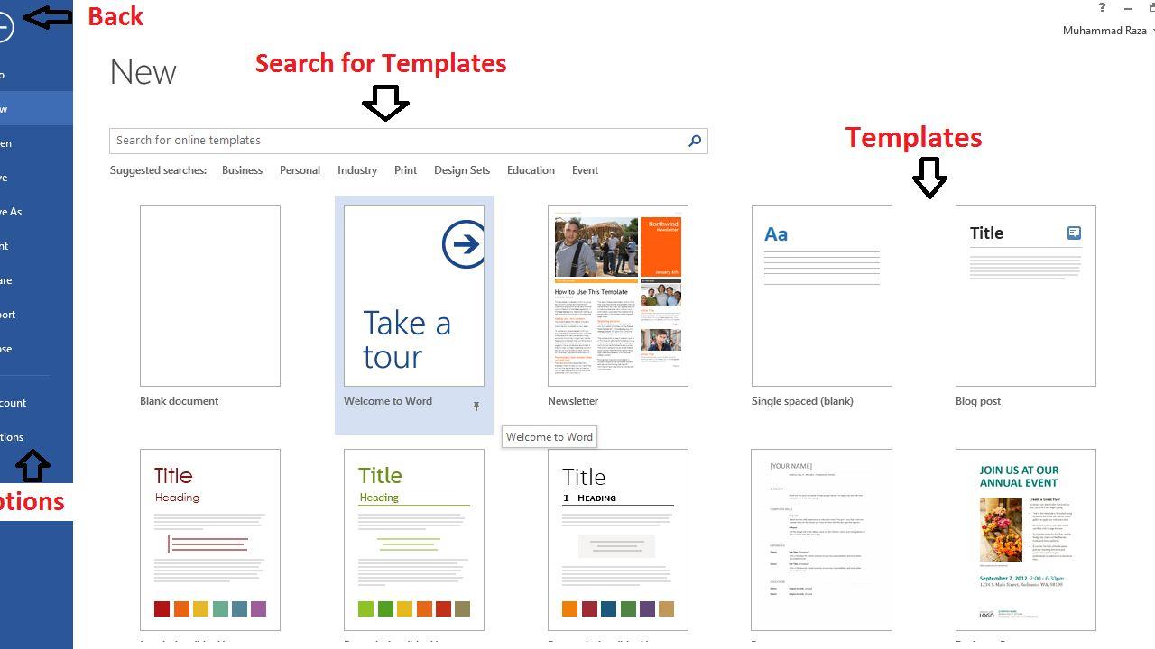 ms word presentation templates