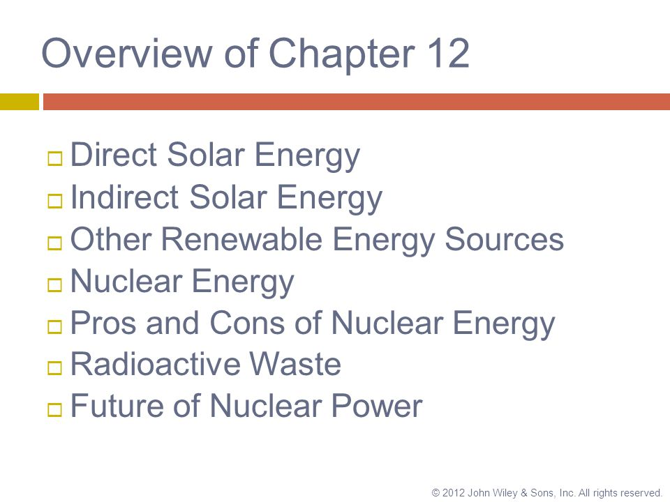 nuclear energy overview