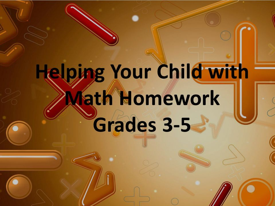 Write my help with math homework