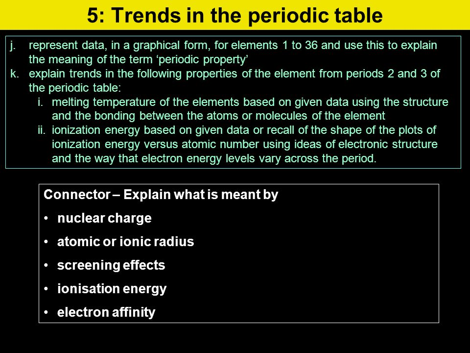 5 trends in the periodic table jpresent data in a graphical 5 trends in the periodic table jpresent data in a graphical form urtaz Choice Image