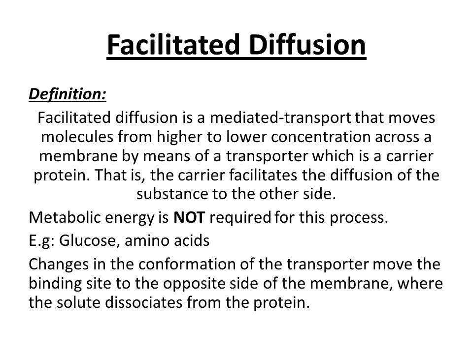 TRANSPORT ACROSS CELL MEMBRANE-1 (Guyton, 12 th Ed. (chapter 4): pg ...