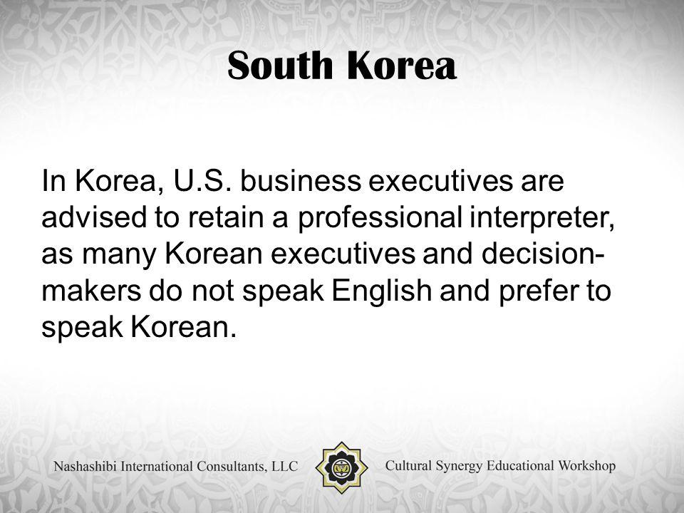 South Korea In Korea, U.S.