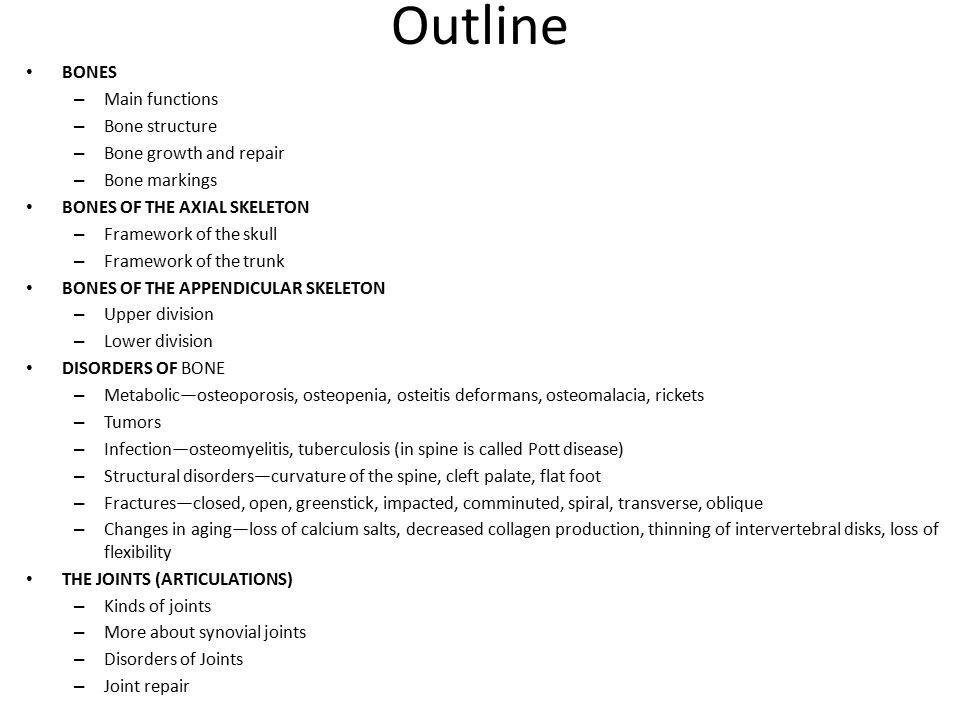 Increíble Chapter 7 Anatomy And Physiology Regalo - Anatomía de Las ...