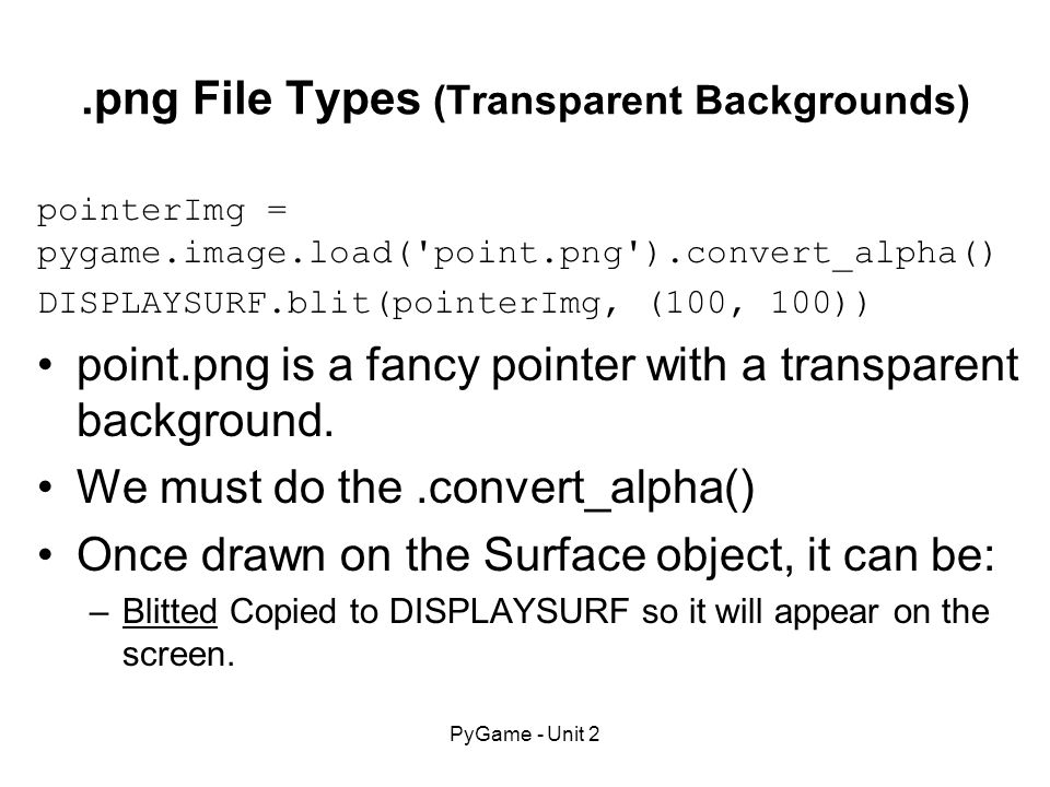 7 File Types Transparent