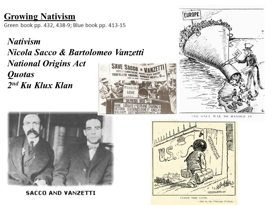 the communist actions of sacco and vanzetti Note: for a different view of the sacco-vanzetti case than is given here, see richard newby's essay made available to this site at 3:00 pm on april 15,1920, a paymaster and his guard were carrying a factory payroll of $15,776 through the main street of south braintree, massachusetts, a small industrial town south of boston.