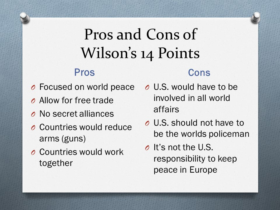 5 Pros and Cons ...